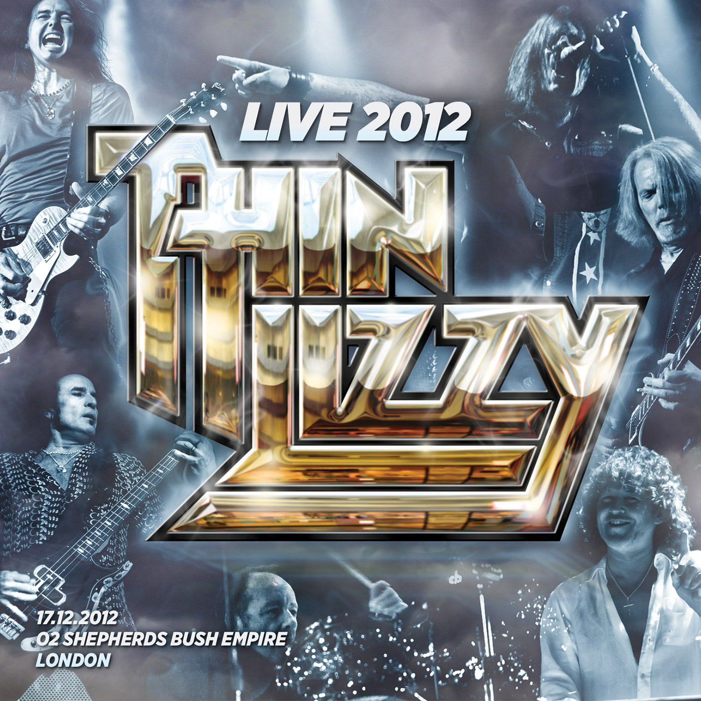 Live 2012 - O2 Shepherds Bush Empire - Thin Lizzy | Kudos Records