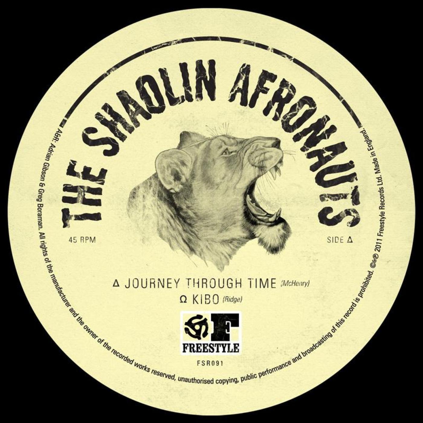 Journey Through Time The Shaolin Afronauts Kudos Records