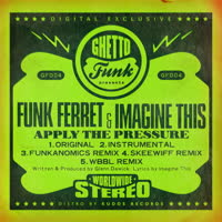Funk Ferret & Imagine This - Apply the Pressure (Remixes)