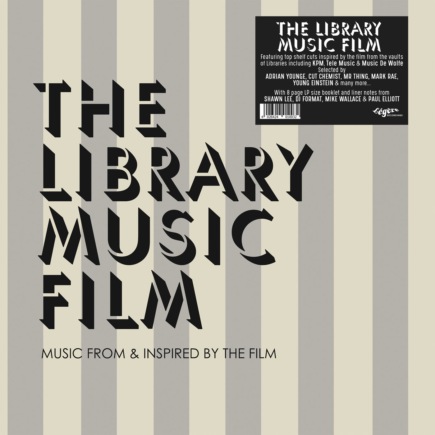 The Library Music Film - Music From And Inspired By The Film - The Library  Music Film | Kudos Records