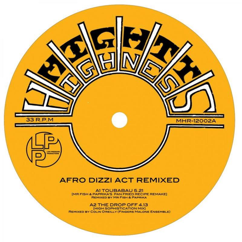 Afro Dizzi Act - Afro Dizzi Act Remixed