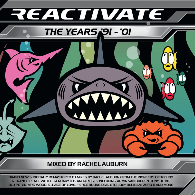 Various Artists — Reactivate 91-01 Rachel Auburn DJ Mixes