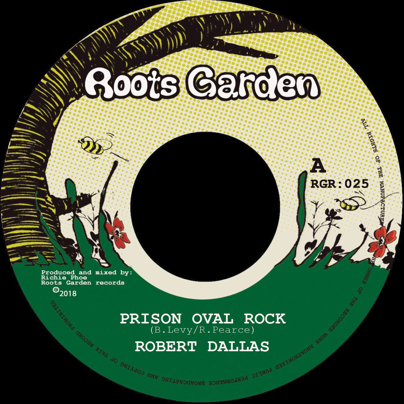 Prison Oval Rock Robert Dallas Amp Richie Phoe Kudos Records