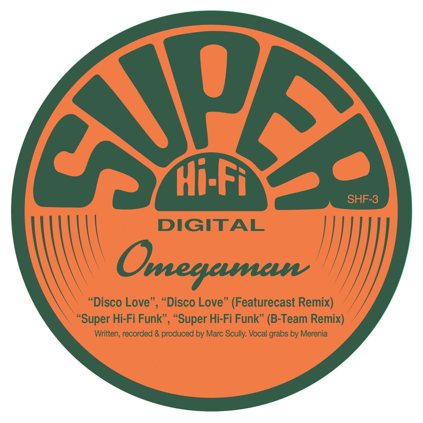 Disco Love - Omegaman   Kudos Records
