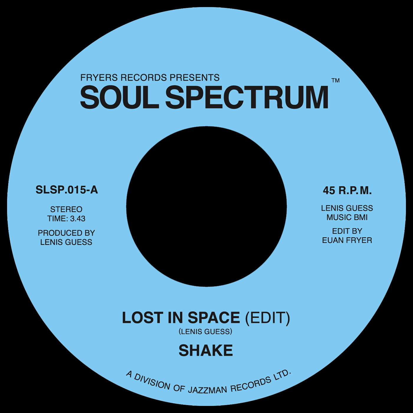 Lost in Space - Shake   Kudos Records