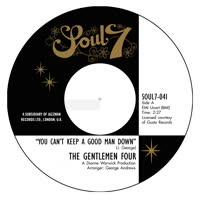 Gentlemen Four - You Can't Keep a Good Man Down / It Won't Hurt