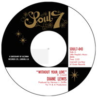 Diane Lewis - Without Your Love / Giving up Your Love