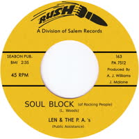 Len & the P.A.'s - Soul Block