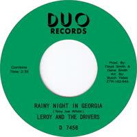 Leroy & The Drivers - Rainy Night in Georgia