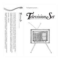 Television Set - Emma Hauck's Letters